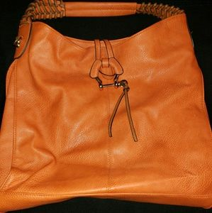 Handbags - Orange purse used